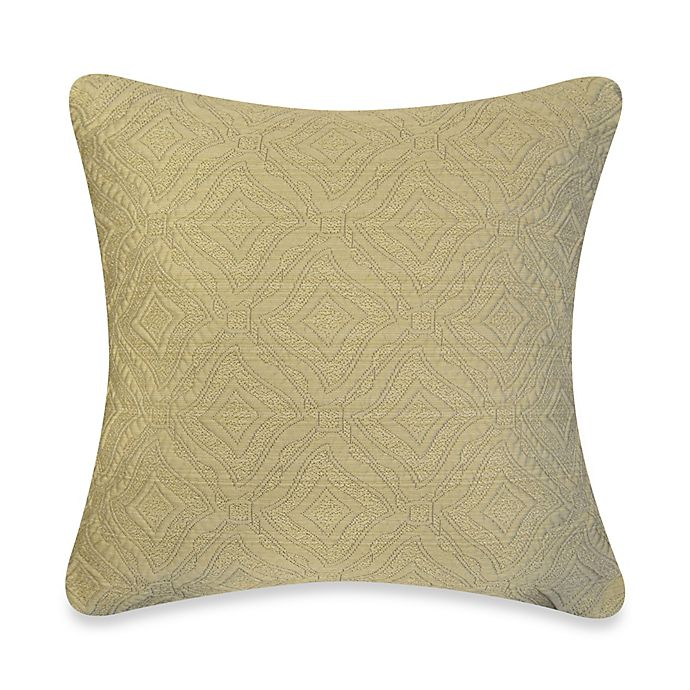 Ashbury Throw Pillow In Taupe Bed Bath Amp Beyond