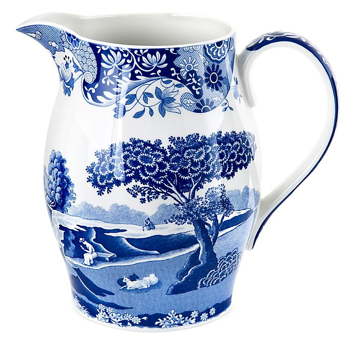 Alternate image 1 for Spode® Blue Italian Pitcher