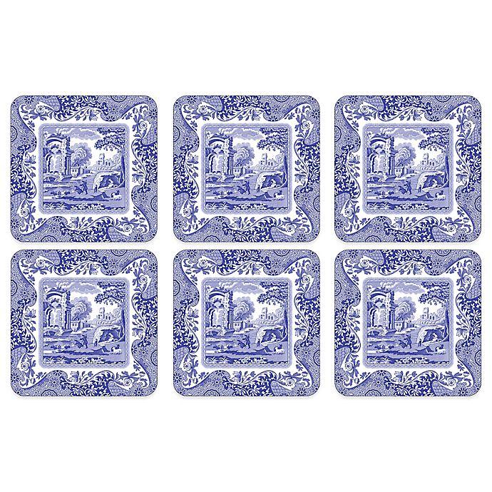 Alternate image 1 for Spode® Blue Italian Coasters (Set of 6)