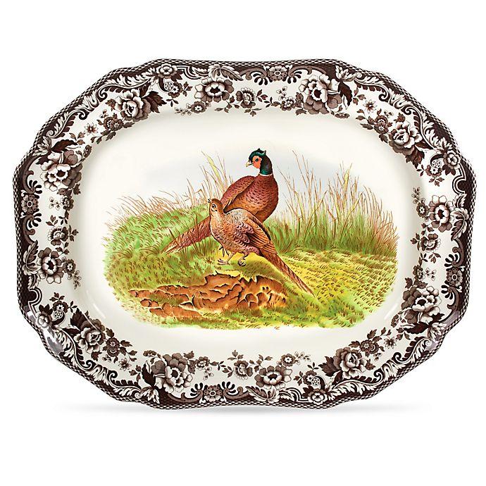 Alternate image 1 for Spode® Woodland 19-Inch Pheasant Platter