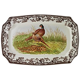 Spode® Woodland 17.5-Inch Pheasant Platter