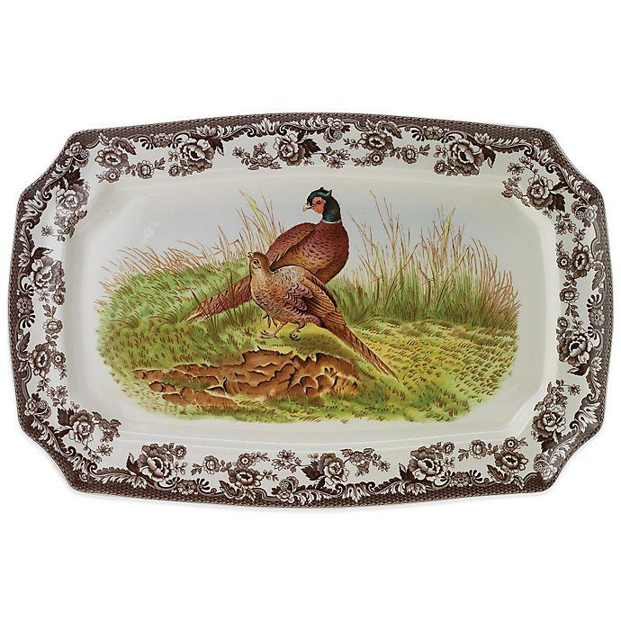 Alternate image 1 for Spode® Woodland 17.5-Inch Pheasant Platter