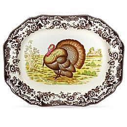 Spode® Woodland Turkey 19-Inch Platter
