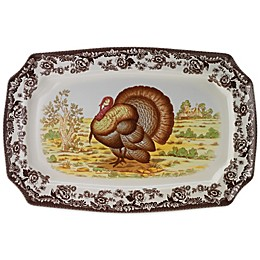 Spode® Woodland Turkey 17.5-Inch Platter