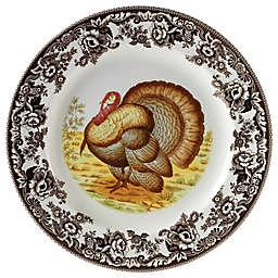 Spode® Woodland Turkey Salad Plate