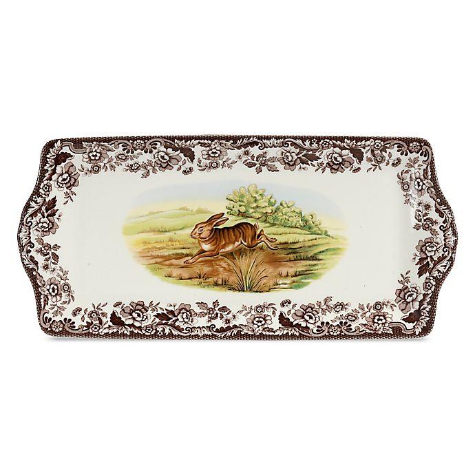 Alternate image 1 for Spode® Woodland Rabbit Sandwich Tray