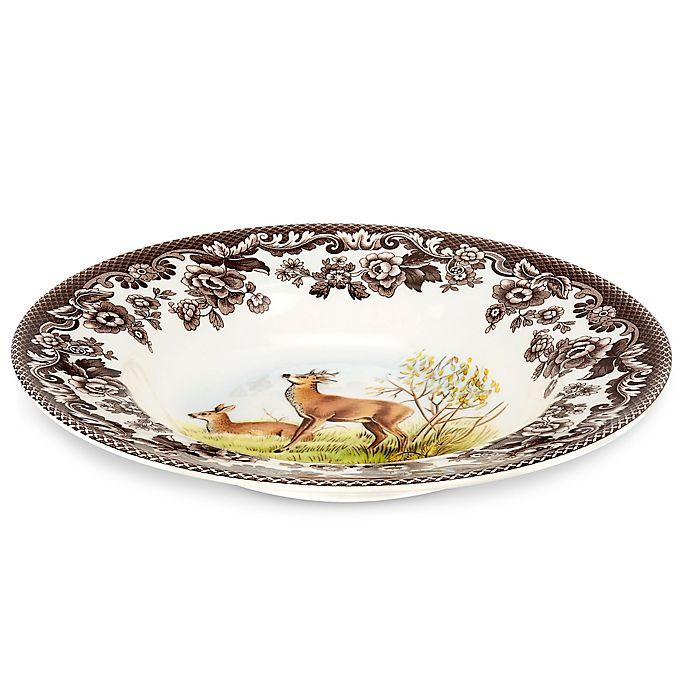 Alternate image 1 for Spode® Woodland Deer Rim Soup Bowl