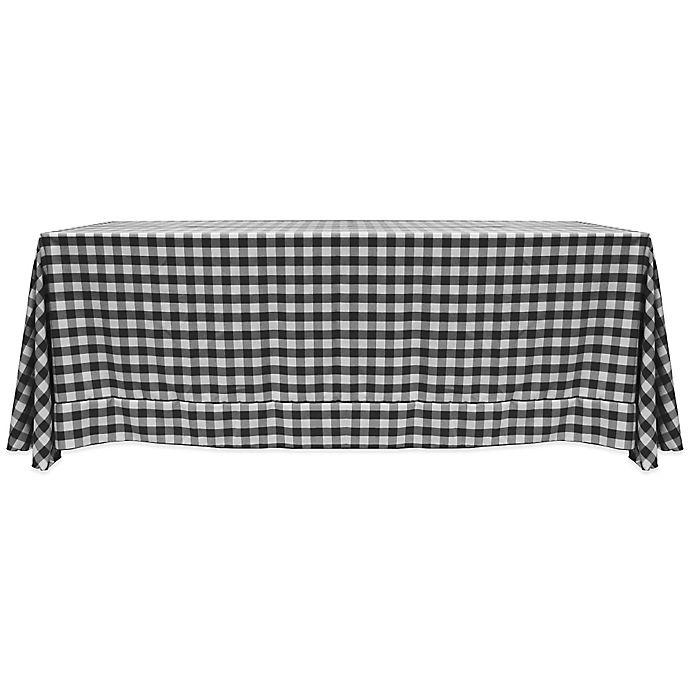 Alternate image 1 for Gingham Oblong Tablecloth