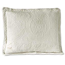 Historic Charleston Collection Matelasse Standard Sham in White