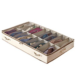 Real Simple® Garment Storage Underbed Shoe Bag