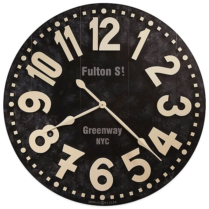 Alternate image 1 for Howard Miller Fulton Street 36-Inch Gallery Wall Clock