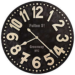 Howard Miller Fulton Street Gallery Wall Clock