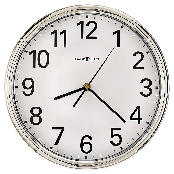 Alternate image 1 for Howard Miller Hamilton Wall Clock