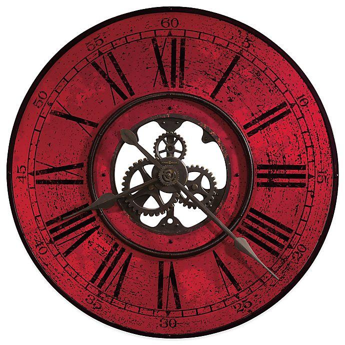 Alternate image 1 for Howard Miller Brassworks II 32-Inch Gallery Wall Clock