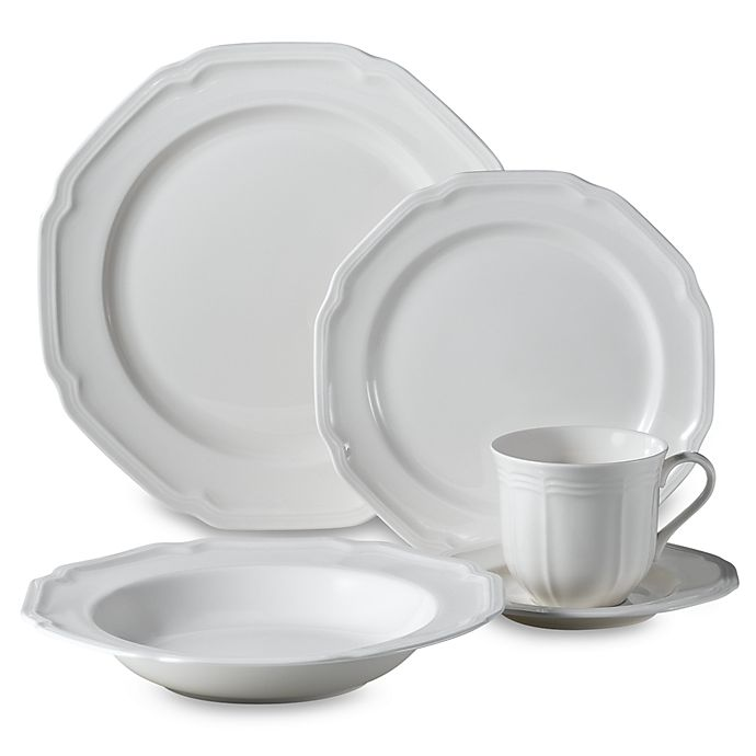 Alternate image 1 for Mikasa® Antique White Dinnerware Collection