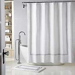 Wamsutta® Baratta Stitch Shower Curtain