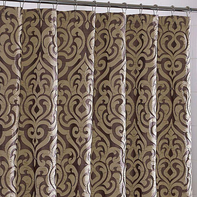 JQueen New YorkTM Luxembourg Fabric Shower Curtain