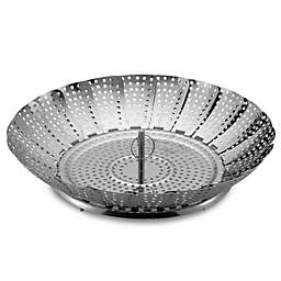 Zyliss® Stainless Steel 11-Inch Vegetable Steamer Basket