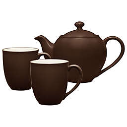 Noritake® Colorwave 3-Piece Tea-for-2 Set in Chocolate