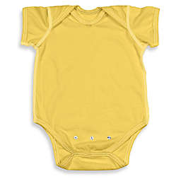 i play.® Brights Organic Cotton Short-Sleeve Adjustable Bodysuit in Yellow
