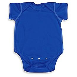 i play.® Brights Organic Cotton Short-Sleeve Adjustable Bodysuit in Royal Blue