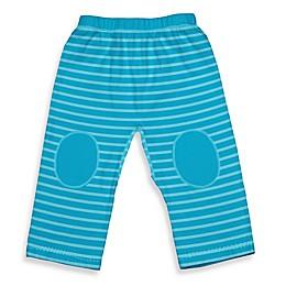i play.® Brights Organic Cotton Yoga Pants in Aqua Stripe