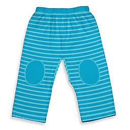 i play.® Brights Organic Cotton Yoga Pants in Aqua Stripe