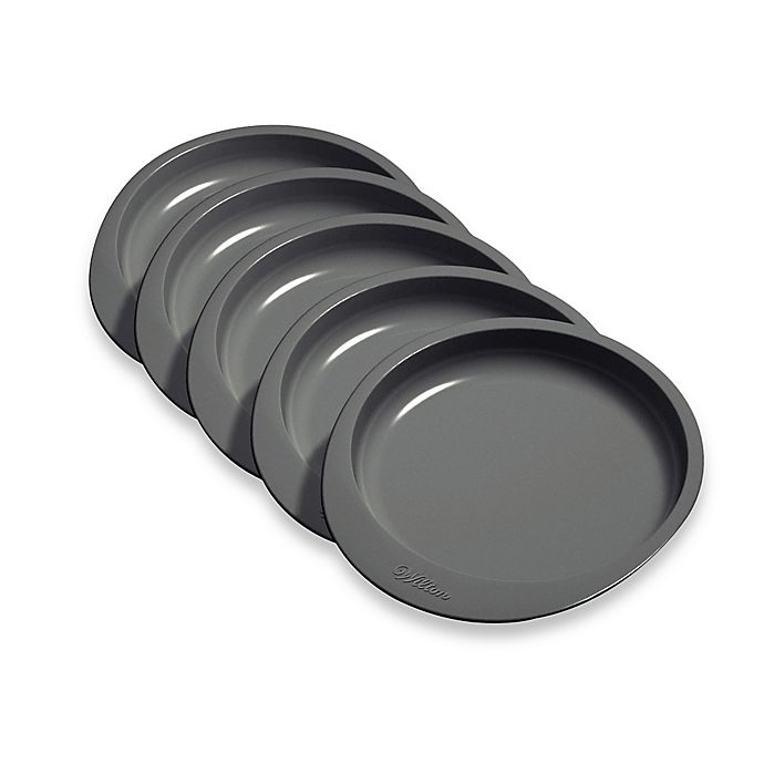 Alternate image 1 for Wilton® 5-Piece 6-Inch Round Cake Pans (Set of 5)