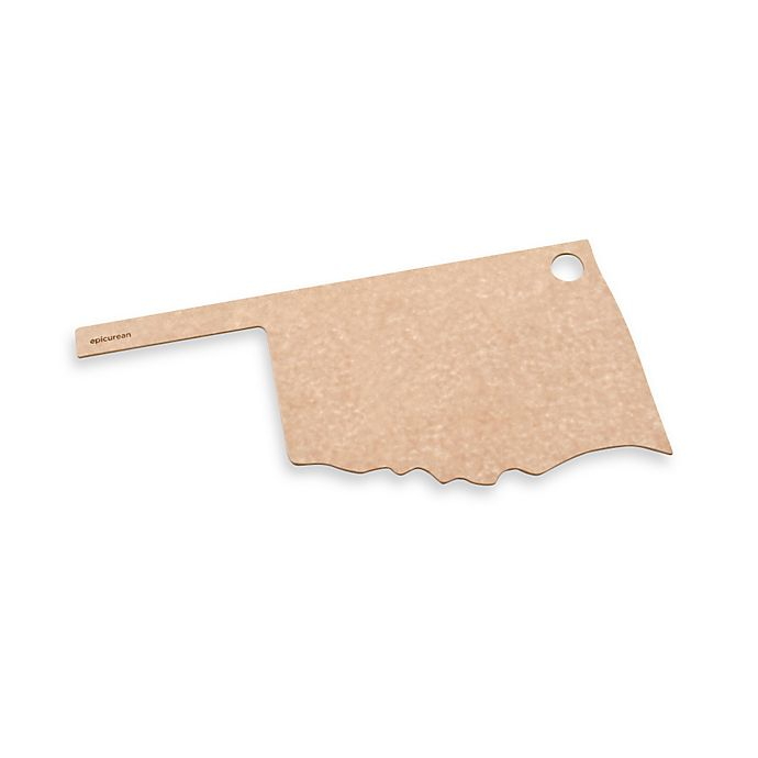 Alternate image 1 for Epicurean® Oklahoma State Cutting Board