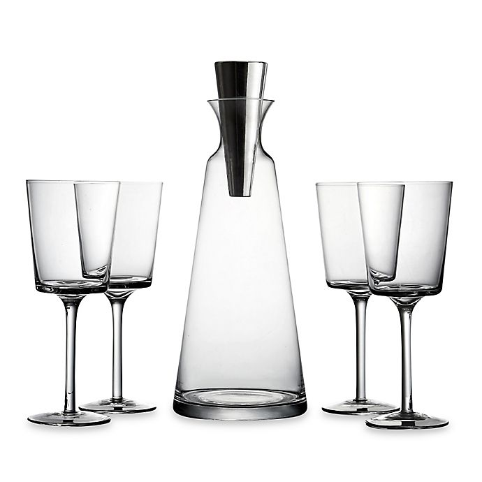 Alternate image 1 for Fitz and Floyd® Lincoln Pyramid 5-Piece Wine Set