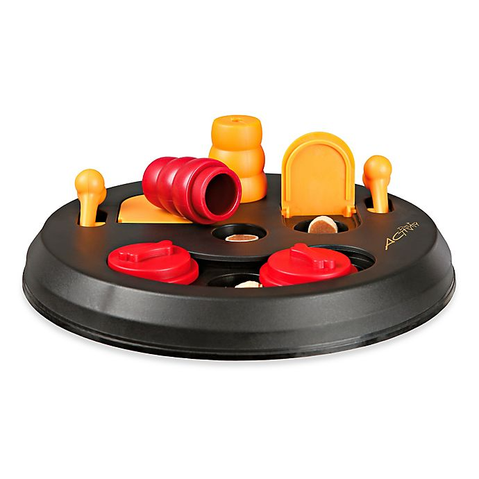 Alternate image 1 for Trixie Pet Products Flip Board Dog Game in Red (Level 2)