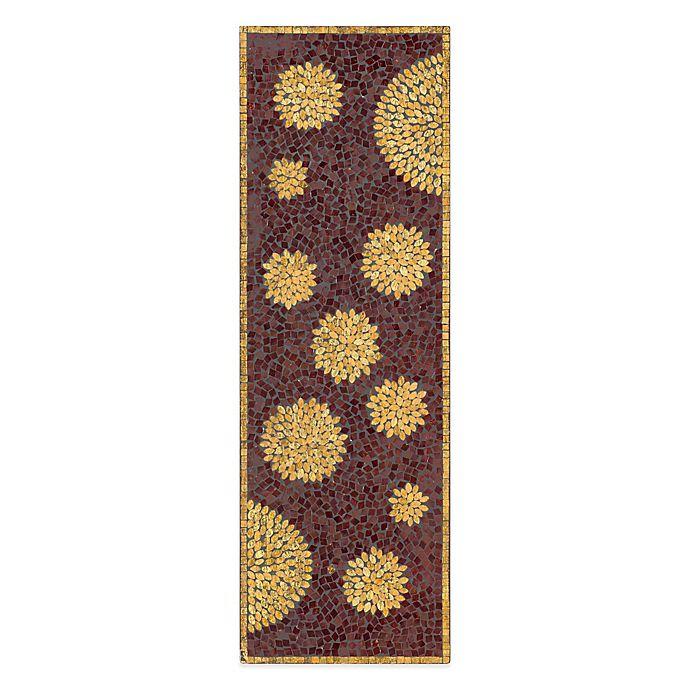 Alternate image 1 for Chrysanthemum Mosaic Wall Panel