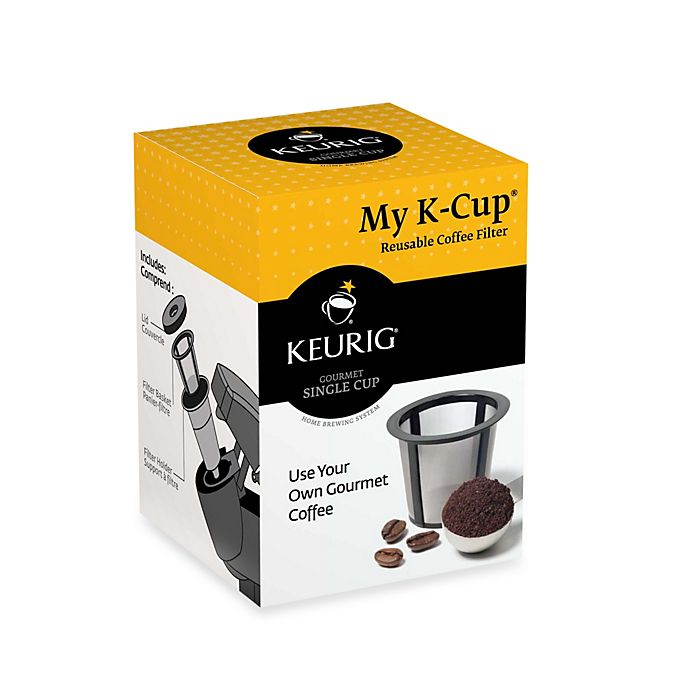 Alternate image 1 for Keurig® My K-Cup® Reusable Coffee Filter