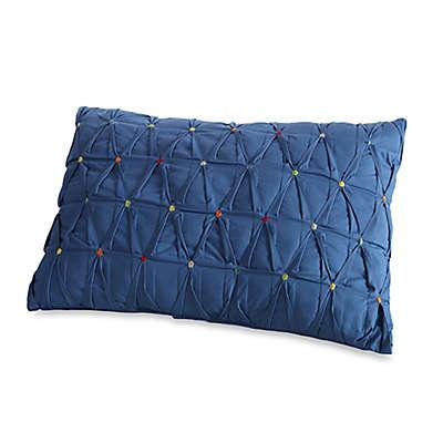 Fiesta® Calypso Embroidered Dot Oblong Throw Pillow