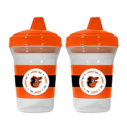 Baby Fanatic® MLB Baltimore Orioles 2-Pack 5 oz. Sippy Cup