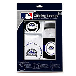 Baby Fanatic® MLB Colorado Rockies Baby Essentials Gift Set