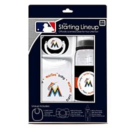 Baby Fanatic® MLB Florida Marlins Baby Essentials Gift Set