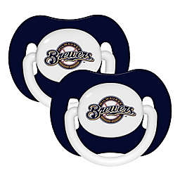 Baby Fanatic® MLB Milwaukee Brewers 2-Pack Pacifiers