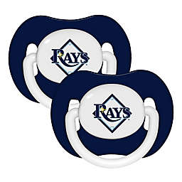 Baby Fanatic® MLB Tampa Bay Rays 2-Pack Pacifiers