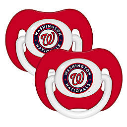 Baby Fanatic® MLB Washington Nationals 2-Pack Pacifiers
