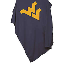 West Virginia University 54-Inch x 84-Inch Sweatshirt Throw Blanket