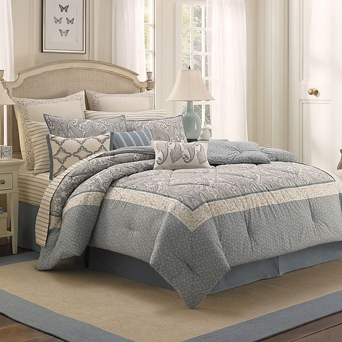 Laura Ashley Whitfield Comforter Set Bed Bath Beyond
