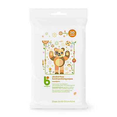 Babyganics® 20-Count  Mandarin Scented Alcohol-Free Hand Sanitizing Wipes