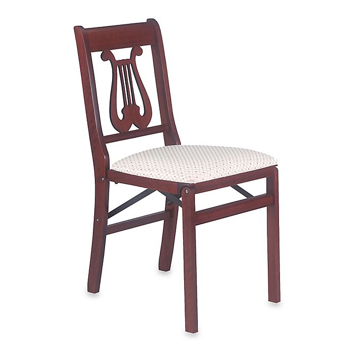 Alternate image 1 for Music Back Folding Chair