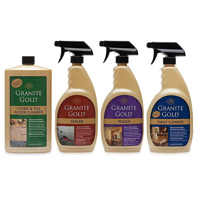 Alternate image 1 for Granite Gold® Stone Cleaners
