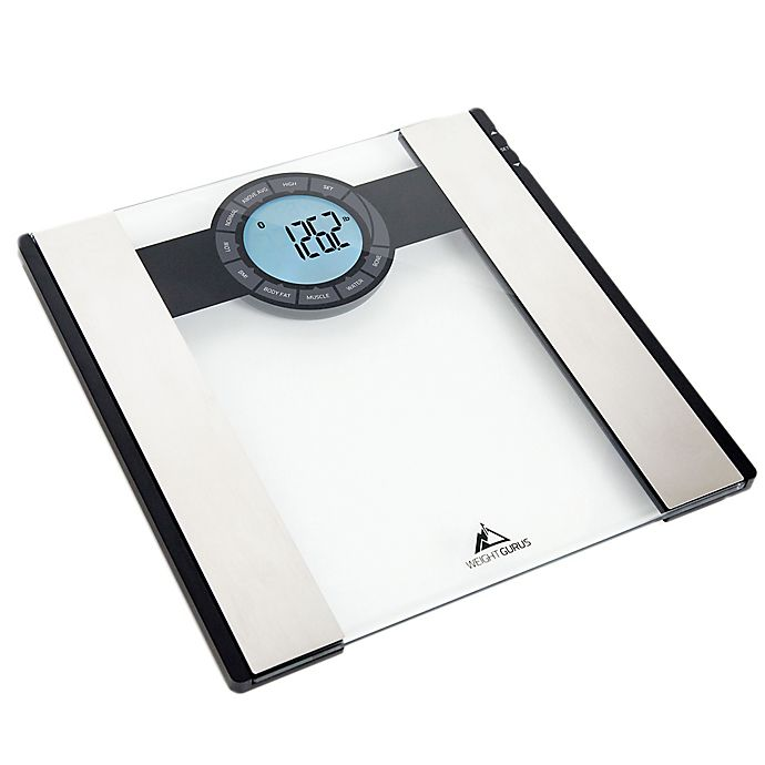 Alternate image 1 for Weight Gurus® Bluetooth® Smart Bathroom Scale