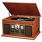 Victrola™ Classic 6-in-1 Turntable with Bluetooth® Speakers in Mahogany