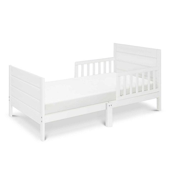 Alternate image 1 for DaVinci Modena Toddler Bed in White
