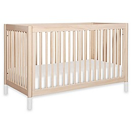 Babyletto Gelato 4-in-1 Convertible Crib in Washed Natural/White