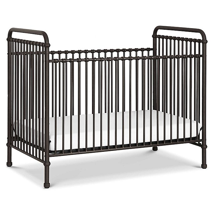 Alternate image 1 for Million Dollar Baby Classic Abigail 3-in-1 Convertible Crib in Vintage Iron